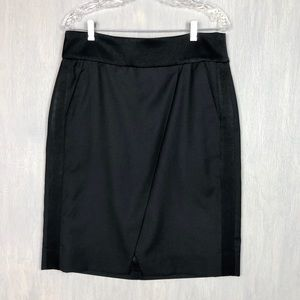 J. Crew asymmetrical crossover pencil skirt 12